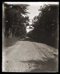 Dirt road near Massachusetts Agricultural College