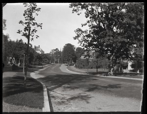 Amherst street, near Massachusetts Agricultural College