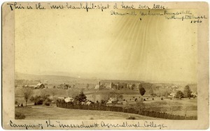 This is the 'most beautiful spot I have ever sen,' --Stonewall Jackson, Round Hill, Northampton, Mass. 1860'