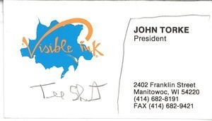 John Torke business card