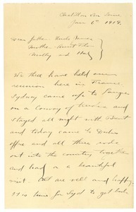 Letter from Brainerd Taylor, Sydney, and Richard M. Hill to James B. Taylor
