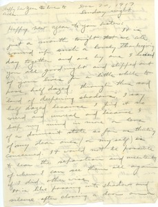 Letter from Brainerd Taylor to Harriet M. Taylor