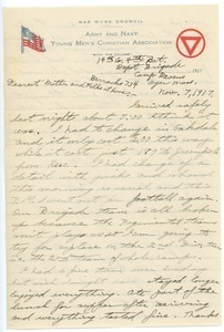 Letter from Herman B. Nash to Lizzie S. Nash