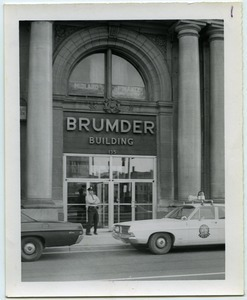 Brumder Building -- 2nd floor location of Selective Service