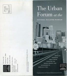 Urban Forum at the National Building Museum
