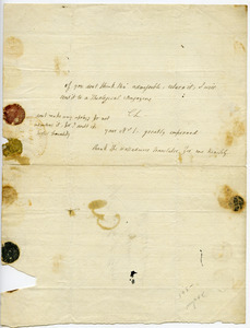 Charles Lamb letter to Taylor & Hessey