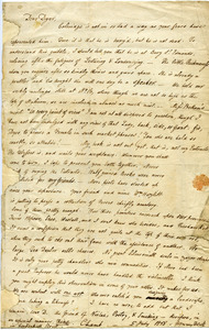 Charles Lamb letter to George Dyer