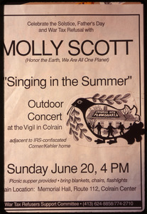 Molly Scott: 'Singing in the summer' outdoor concert