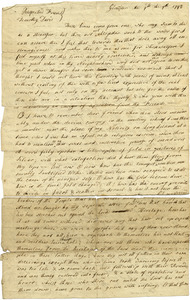 Letter from Elias Hicks to Timothy Davis