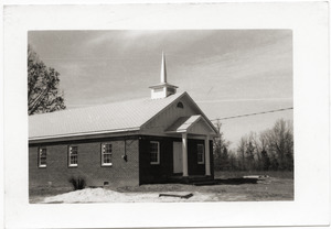 Antioch Church (Blue Mountain, Miss.) after reconstruction