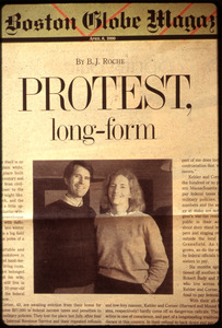 Protest, long-form, by B. J. Roche