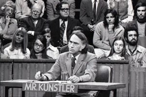 Taping 'The Advocates' television show on WGBH: William Kunstler, with  studio audience in background - Digital Commonwealth