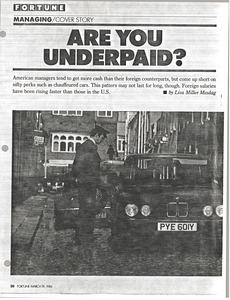 Are you underpaid