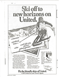 Andre Arnold and United Airlines advertisement