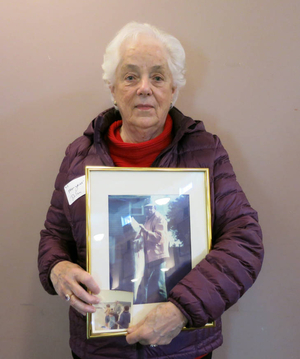 Margaret Dolan at the Plymouth Mass. Memories Road Show