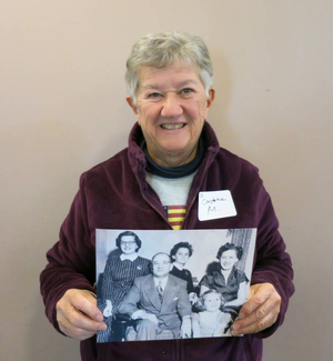 Constance E. Melahoures at the Plymouth Mass. Memories Road Show