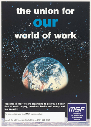 The union for our world of work