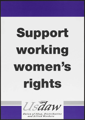 Support working women's rights