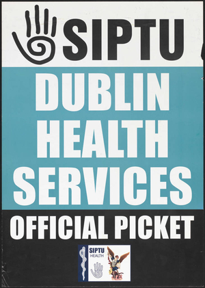 Dublin Health Services official picket