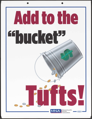 """Add to the """"bucket"""" Tufts"""