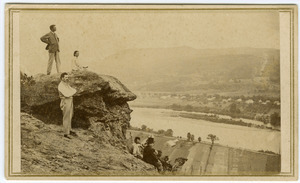 Views From and of the Mountain House, Summit of Sugar-Loaf Mountain, South Deerfield, Mass., no. 6