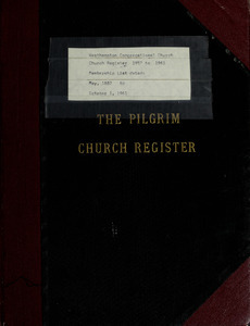Church register and membership list