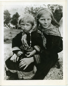 Two Lapp children