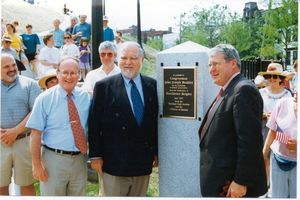 Dedication of Dorchester Heights monument, 21 June 1997
