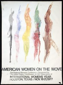 American Women on the Move Conference poster