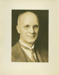 Gleason L. Archer (President, 1937-1948, and Founder of Suffolk University), formal headshot portrait