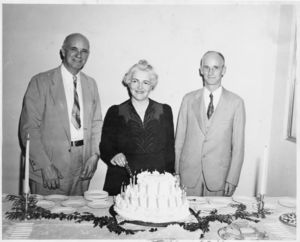 Gleason L., Elizabeth, and Hiram Archer