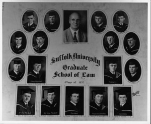 1937 Suffolk University Graduate School of Law Class