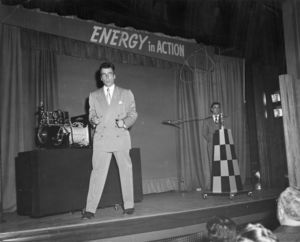 A performance of Energy in Action at the C.Walsh Theatre