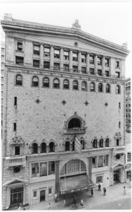 Exterior of the Tremont Temple (88 Tremont Street)