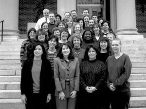 Suffolk University staff at a Leadership Management Program offered by the Colleges of Fenway