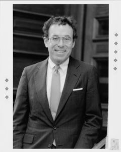 Suffolk University President Daniel H. Perlman (1980-1989)