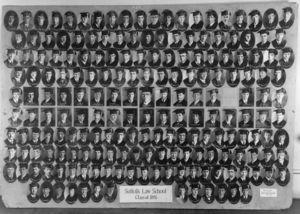 1925 Suffolk University Law School Class