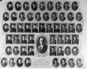 1922 Suffolk University Law School class