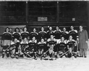 1946-1947 Suffolk University hockey team