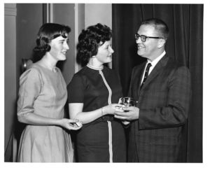 Attendees at Suffolk University's Recognition Day, 1962