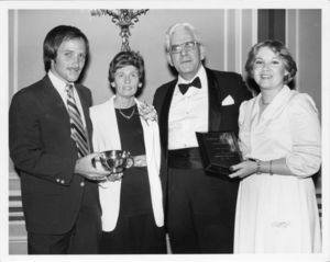 Attendees at the 1979 Suffolk University Law Day Dinner Event
