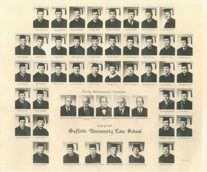 1954 Suffolk University Law School class