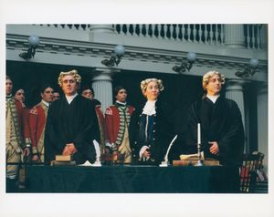 Boston Massacre Trial re-enactment at Suffolk University Law School
