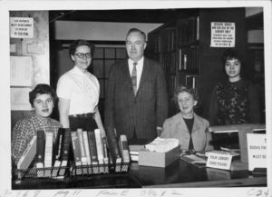 Members of Suffolk University's Law Library Staff