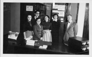 Members of Suffolk University's Library Staff