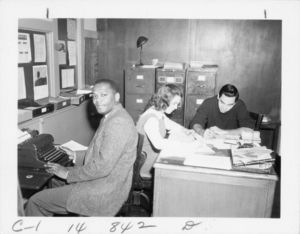 Members of Suffolk University's Guidance Department, 1959