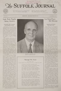 Front page of the first issue of the Suffolk Journal