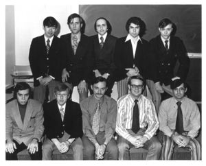 Suffolk University Law School Moot Court competition, circa 1970s