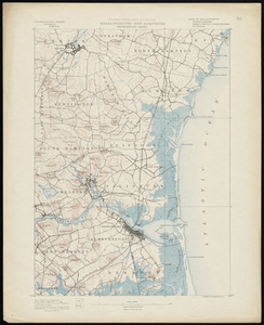Massachusetts-New Hampshire, Newburyport sheet