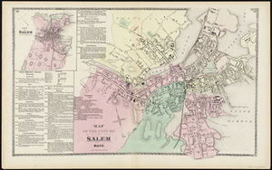 Map of the City of Salem Mass.
